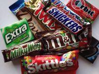 Kinder Bueno, Kit Kat, Milka, Mars, Snickers, Skittles Chocolate Candy
