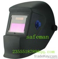 Solar Adjustable Auto Darkening Welding Helmet