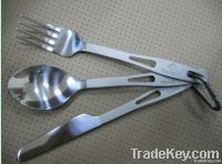 Titanium tableware