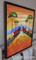 Handpainted Acrylic Painting Sunset