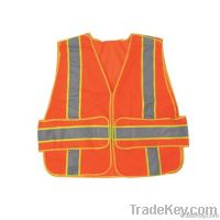 ANSI Class 2  Safety Vest 100% Polyester Mesh/netting