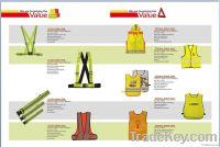 EN471 Class 2, ANSI/ISEA Hi-vis Safety Vest, 100%Polyester Mesh