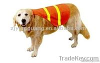 Pet Safety Vest with EN471, 100%Polyester Knitting Fabric