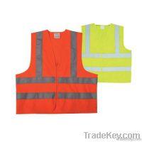 EN471 Class 2 Hi-vis Safety Vest 100% Polyester Tricot