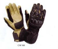 Leather Racing Gloves For Woman