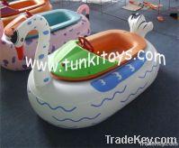 bumper boat aqua electric boat water battery boat