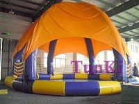 water inflatable bounce comb castle castle slide obstacle race track