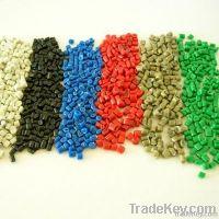 Recycled LDPE granules ( film grade )