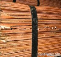 Electrolytic Copper Cathodes Plates 99% Factory