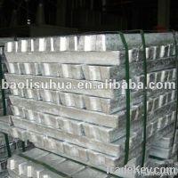 Metallurgy Aluminum Ingot 99.9% Purity