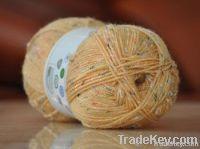 Blended wool knitting yarn