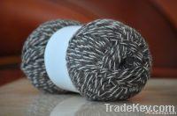 Melange wool knitting yarn