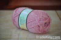 Fancy knitting yarn with sequins