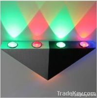 5W LED Indoor Wall Lighting, RGB decorative wall light