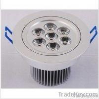 7X1W led ceiling light, high power led ceiling light
