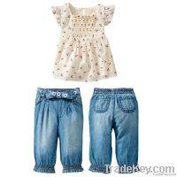 spring baby girl clothes set