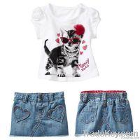 2013 girl clothing set