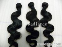 unprocessed  brazilian vigin remy hair body wave