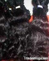 Virgin Indian Human Hair Machine Weft