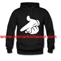 Men Plain & pullover Custom print Fleece Hoodie