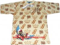 Men & Boys Stylish Full Printed T-shirt