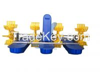 paddle wheel impeller aerator for fish shrimp crab farming