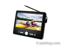 Portable 7-Inch ATSC/NTSC TV