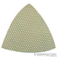 Diamond Triangle Polishing Pads