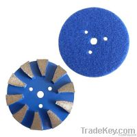 Diamond Metal Floor Polishing Pads