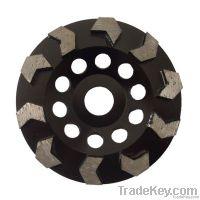 Diamond Arrowhead Cup Wheels