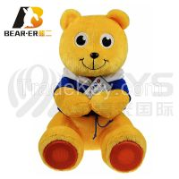 plush animal voice recorcording teddy bear with cloth