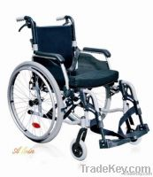 manual durable folding wheelchair made in china