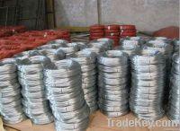 Galvanized iron wire manufacture