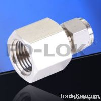 Female connector, Swagelok compression fitting