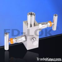 block and bleed valve, two way valve manifold