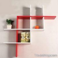 Beautiful shinny floating wall shelf