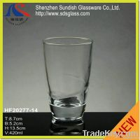 Machine pressed water glass cup HF20277-14(8)