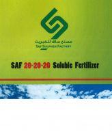 Saf 20-20-20 Soluble Fertilizer
