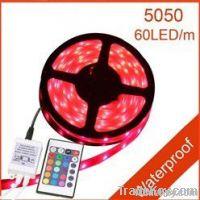 5M 60 led Waterproof Flexible RGB 5050 Led Strip Light