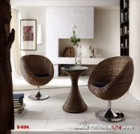 Chair Rattan Stainless sets