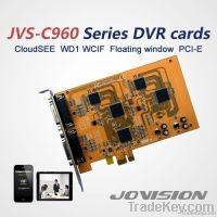 4/8 channels H264 WD1/WCIF/D1/CIF PCI-E HD DVR card