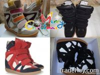 ISABEL MARANT REAL LEATHER SHOES BOOTS