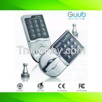 Electric keyless keypad cabinet lock