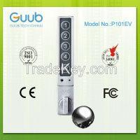 Keyless electronic locker lock