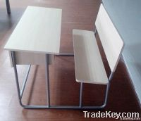 2 seater student desk& chair set