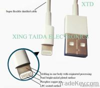 Lightning to USB cable for iPhone 5 iPad mini iPad 4 iPod 5GEN with sy