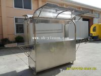 Hot Sale! Mobile Stainless Steel Coffee Carts YS-CF190