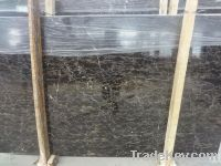 Brown marble tiles for indoor adornment