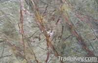 Green marble for countertops