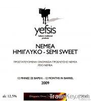 Nemea P.D.O. Semi sweet